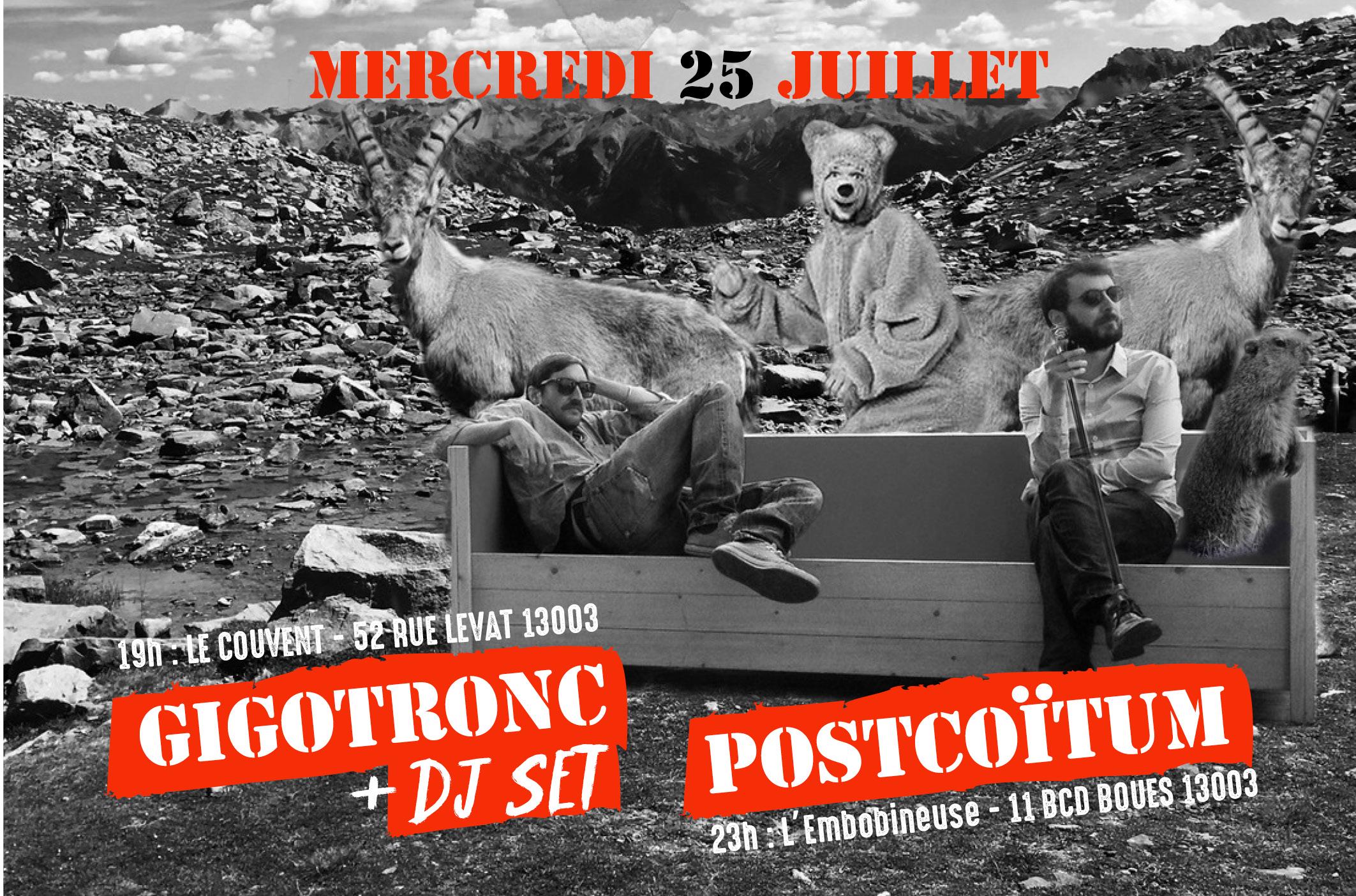 Gigotronc / PostCoïtum