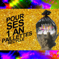 Paillettes Recycle